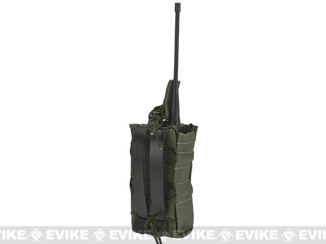 HSGI High Speed Gear Radio Pop-Up Radio MOLLE Mounted Pouch - OD Green