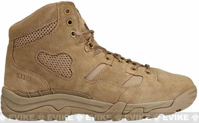z 5.11 Tactical Taclite 6 Coyote Boot (Size: 7)