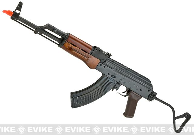E&L Spartan Delta Series AIR MOD A Full Metal AKM Airsoft AEG with Real Wood Furniture and Folding Stock