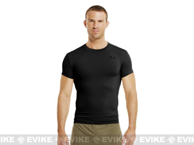 Under Armour Men's Tactical Heatgear� Compression Short Sleeve T-Shirt - Black (X-Large)