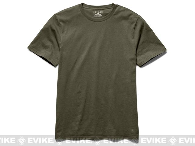 Under Armour Men's UA Tactical Charged Cotton® T-Shirt - OD Green (X-Large)