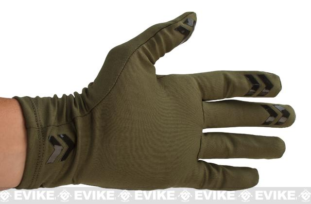 Under Armour Tactical Coldgear® Infrared Gloves - Green (Size: Small)