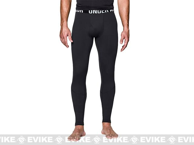Under Armour Men's ColdGear® Infrared Tactical Fitted Leggings - Black (Size: Medium)