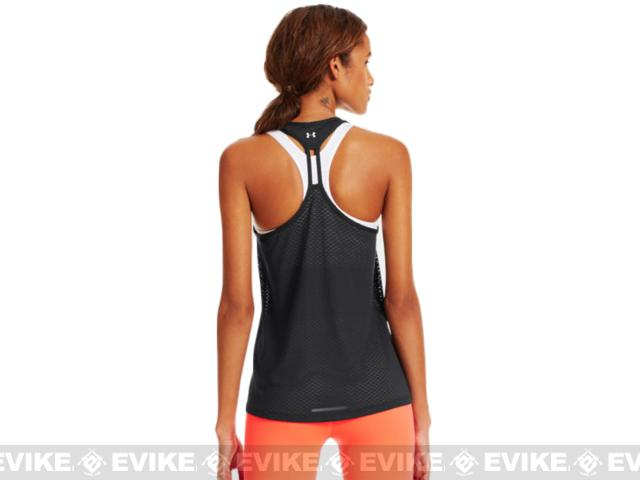 Under Armour Women's Wounded Warrior Project Mesh Tank - Black (Size: Small)