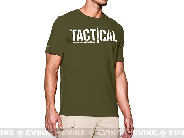 z Under Armour Men's UA Tactical Logo T-Shirt - Major (Medium)