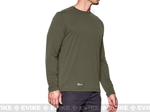 Under Armour Men's Tactical UA Tech� Long Sleeve T-Shirt - OD Green (Small)