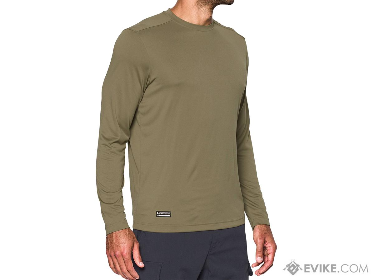 Under Armour Men's Tactical UA Tech� Long Sleeve T-Shirt - Federal Tan (Size: Medium)