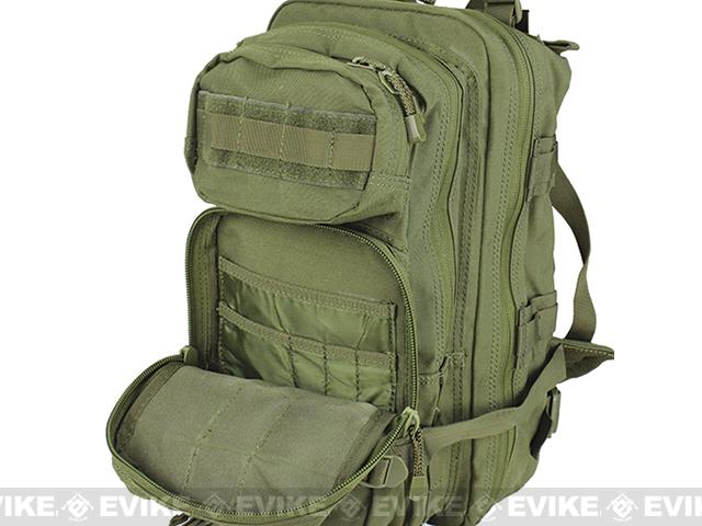 Condor Medium Assault Pack w/ Hydration Compartment (Color: Tan)