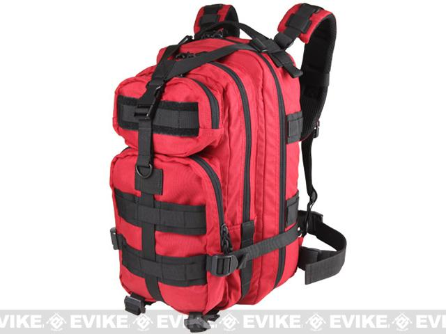 Condor Compact Assault Pack w/ Hydration Compartment - Red