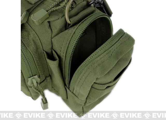 Condor Tactical MOLLE Modular Accessory MOLLE Pouch / Deployment Bag - Tan