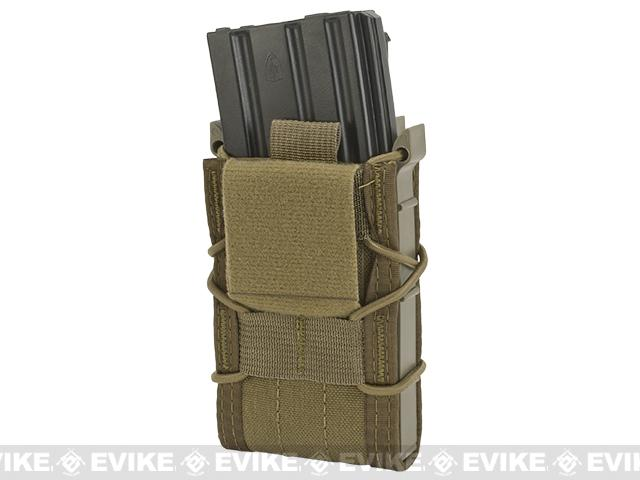 HSGI Double Decker TACO� Modular Single Rifle and Pistol Magazine Pouch Belt Mounted - Coyote Brown