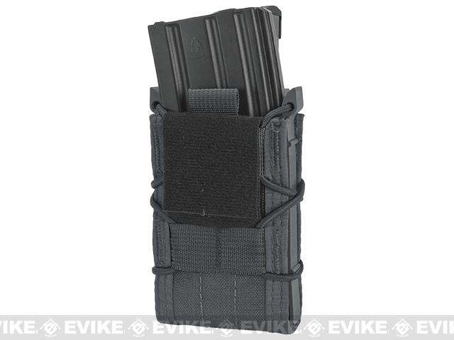 HSGI Double Decker TACO® Modular Single Rifle and Pistol Magazine Pouch Belt Mounted - Wolf Grey