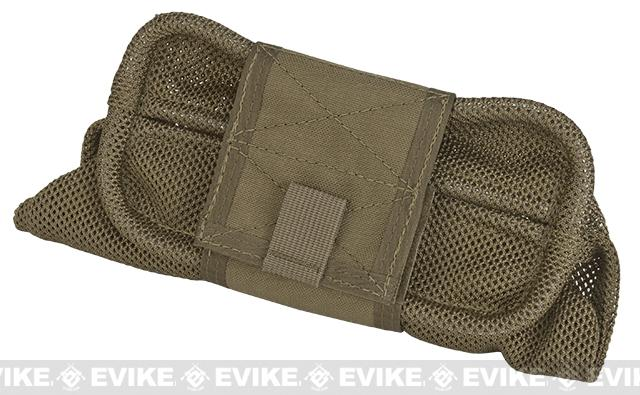 HSGI Belt Mount Mag-Net Tactical Mesh Dump Pouch - Coyote Brown
