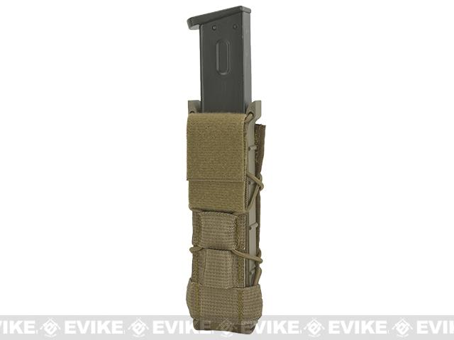 HSGI Extended Pistol TACO� Modular High Capacity Pistol Magazine Pouch Belt Mounted - Coyote Brown
