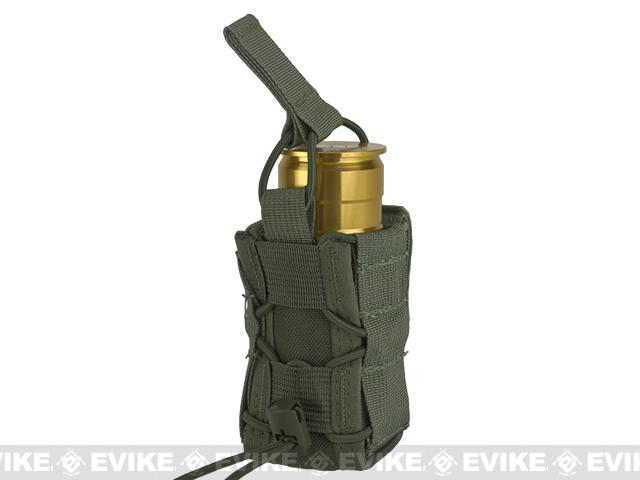 High Speed Gear HSGI TACO Single 40mm Grenade Belt Mount Pouch - OD Green