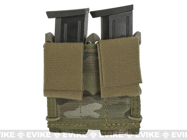 HSGI Double Pistol TACO� Modular Single Pistol Magazine Belt Mounted Pouch - Multicam