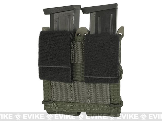 HSGI Double Pistol TACO� Modular Single Pistol Magazine Belt Mounted Pouch - OD Green