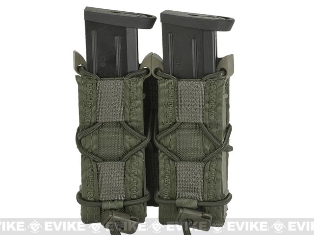 HSGI Double Pistol TACO® Modular Single Pistol Magazine Belt Mounted Pouch - OD Green