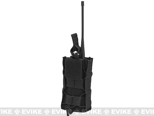 HSGI High Speed Gear Radio Pop-Up Radio Belt Mounted Pouch - Black