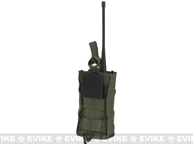 HSGI High Speed Gear Radio Pop-Up Radio Belt Mounted Pouch - OD Green