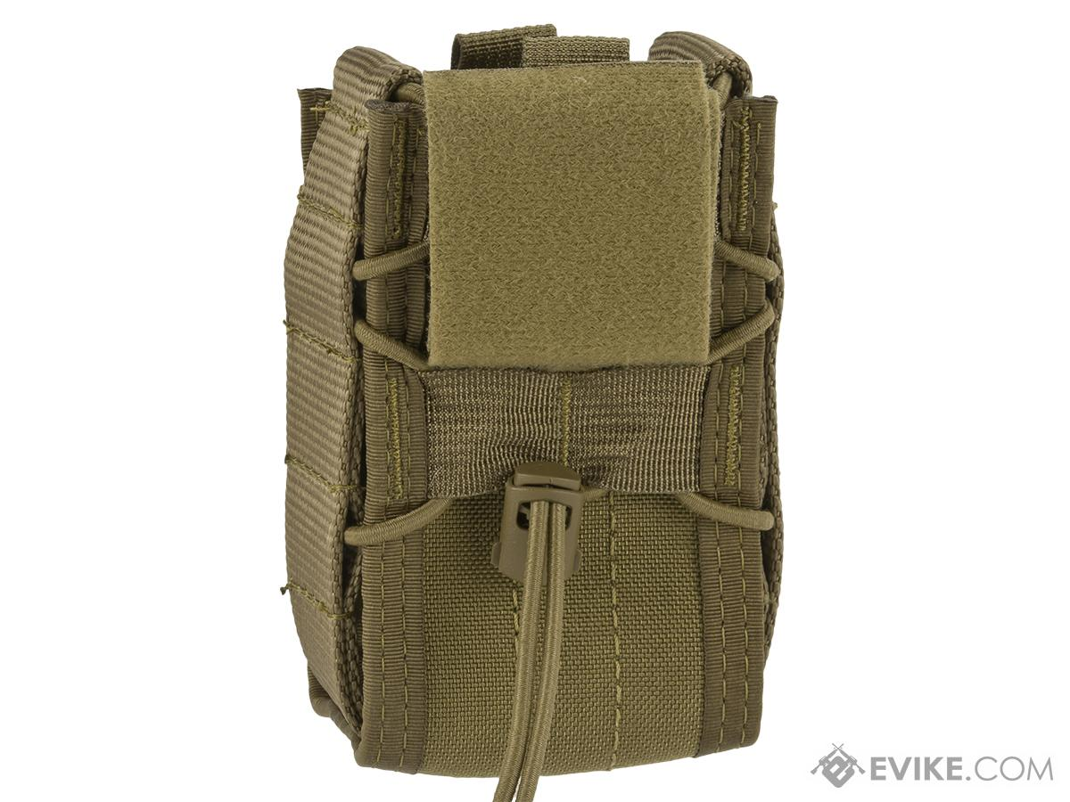 High Speed Gear HSGI TACO Single Stun Gun Belt Mounted Pouch - Coyote Brown