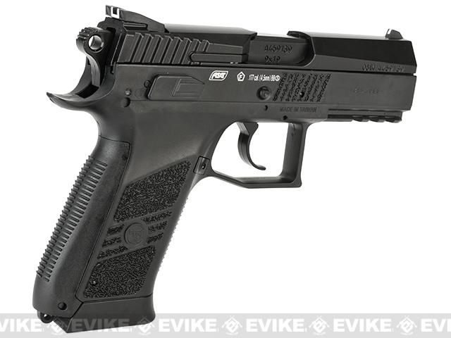 ASG CZ 75 P-07 Duty Blowback Co2 4.5mm (.177 cal NOT AIRSOFT) BB Pistol - Black
