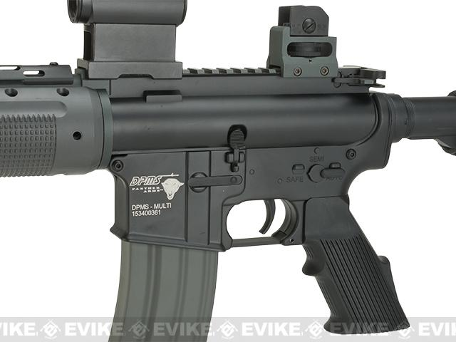 DPMS Panther Arms PAR300-L Full Metal Airsoft AEG by Palco - Black