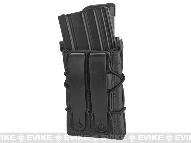HSGI MOLLE Double Decker TACO® LT Modular Single Rifle and Pistol Magazine Pouch - Black