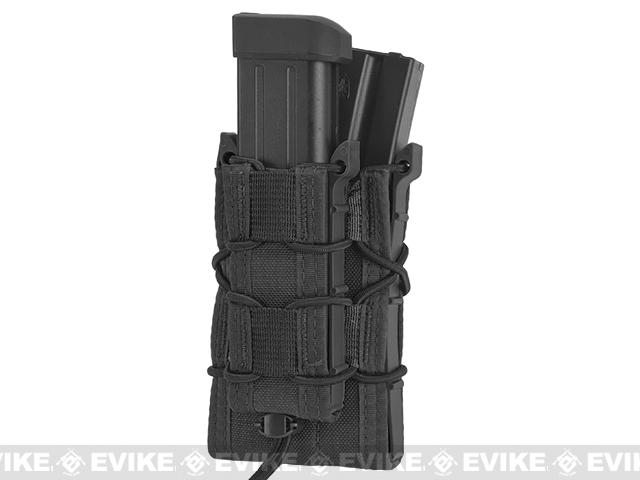 HSGI MOLLE Double Decker TACO� LT Modular Single Rifle and Pistol Magazine Pouch - Black
