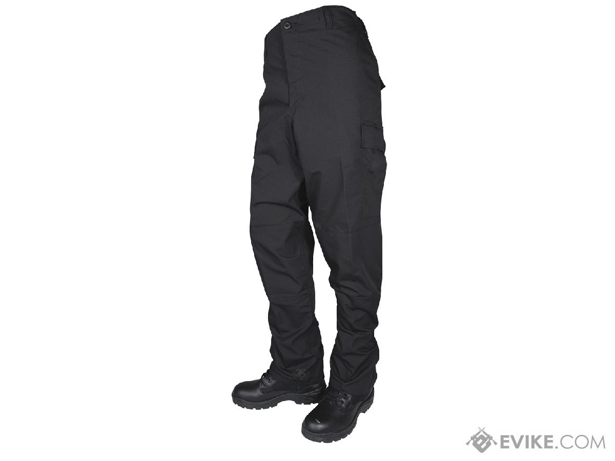 Tru-Spec Basic BDU Pants - Black (Size: Large)