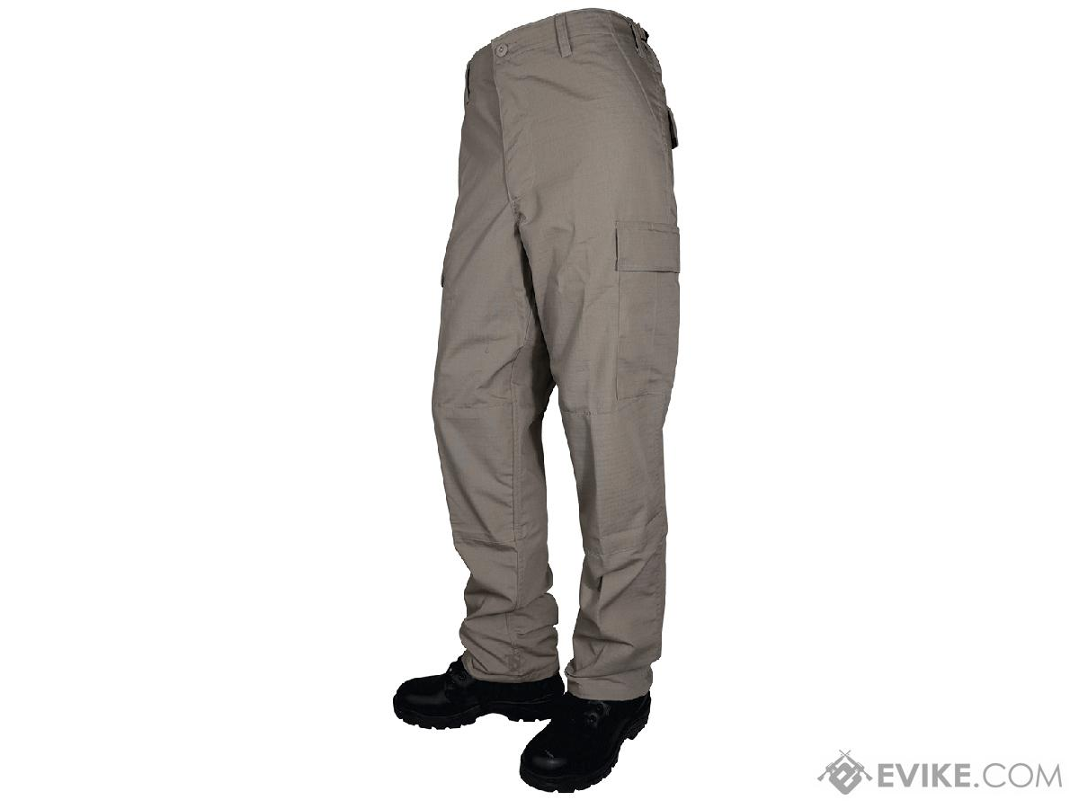 Tru-Spec Basic BDU Pants - Khaki (Size: Small)