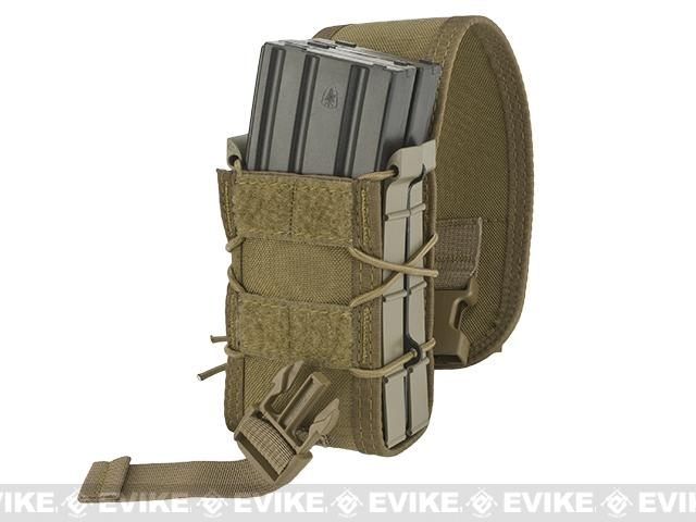 HSGI X2R Covered TACO Modular Double Magazine MOLLE Pouch - Coyote Brown