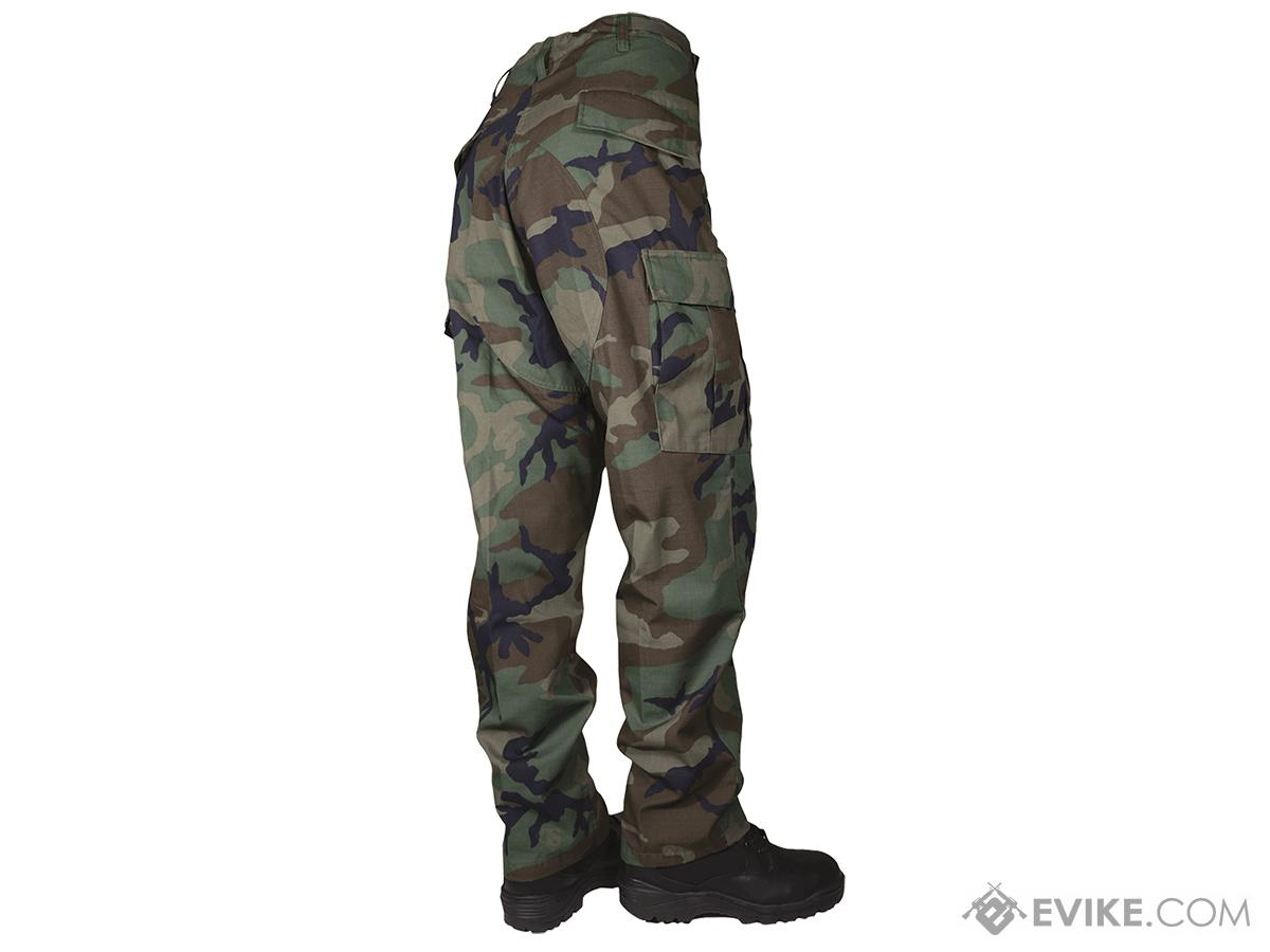 Tru-Spec Basic BDU Pants - Woodland (Size: Small)