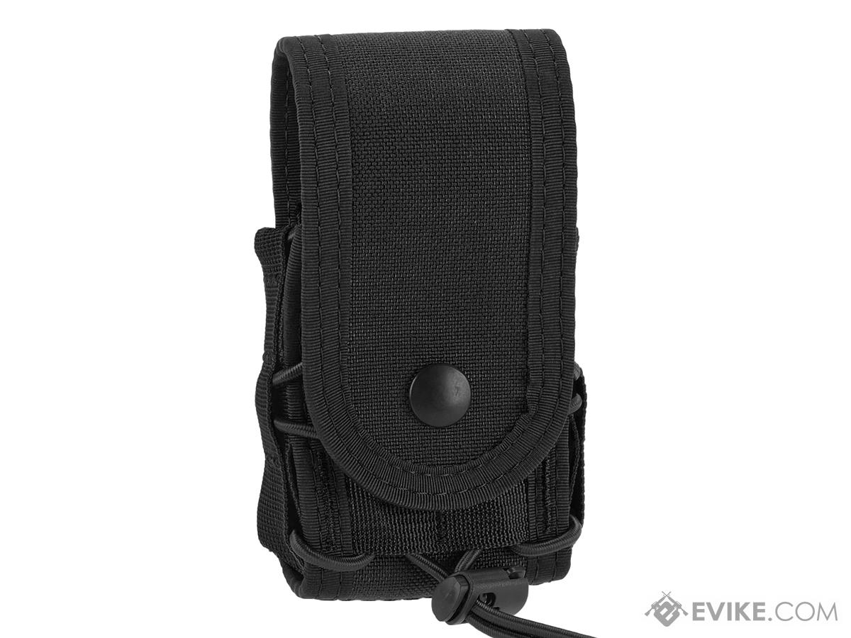 High Speed Gear HSGI MOLLE Mounted Covered Handcuff TACO Pouch - Black