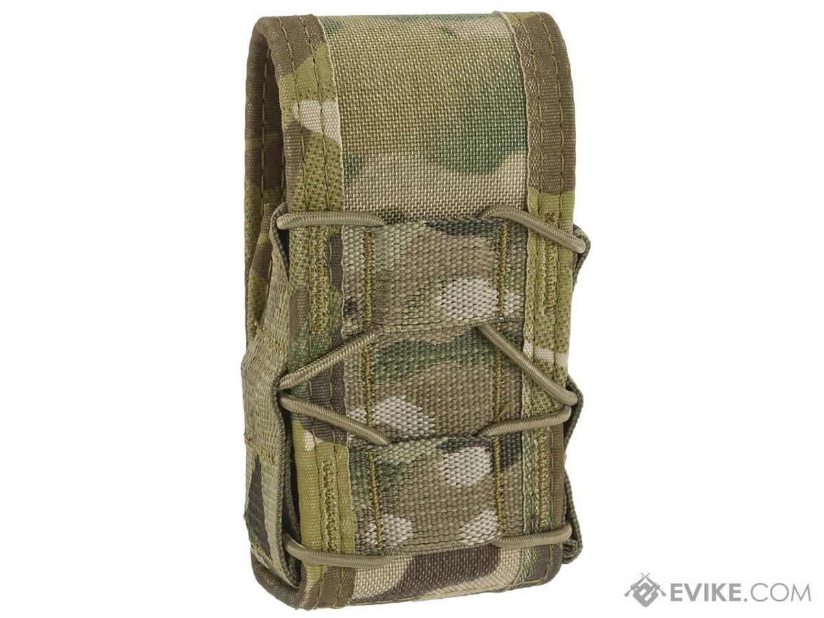 High Speed Gear HSGI MOLLE Mounted Covered Handcuff TACO Pouch - Multicam