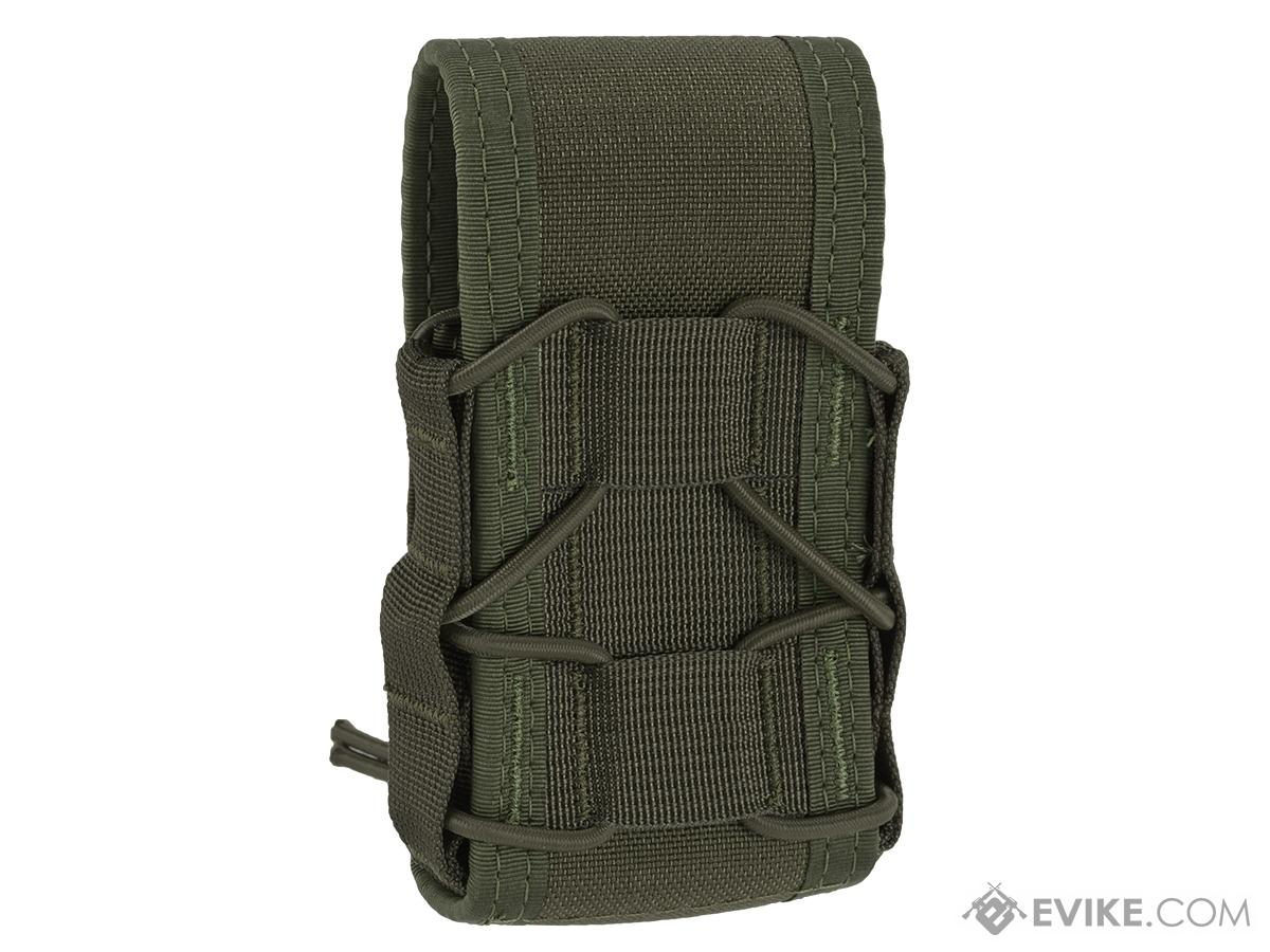 igh Speed Gear HSGI MOLLE Mounted Covered Handcuff TACO Pouch - OD Green
