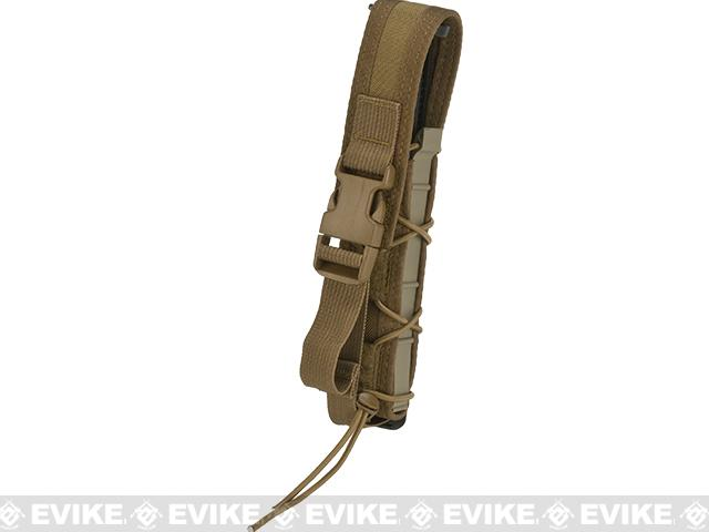 HSGI Covered Extended Pistol TACO® Modular Single Pistol Magazine Pouch - Coyote