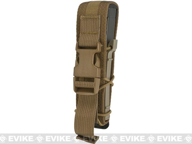 HSGI Covered Pistol TACO® Modular Single Pistol Magazine Pouch - Coyote