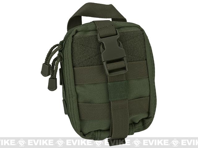 Condor Tactical MOLLE Rip-Away EMT Lite Pouch - OD Green
