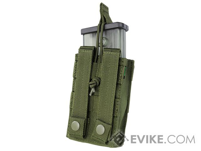 Condor Single Open Top Magazine Pouch for G36 Magazines - Tan