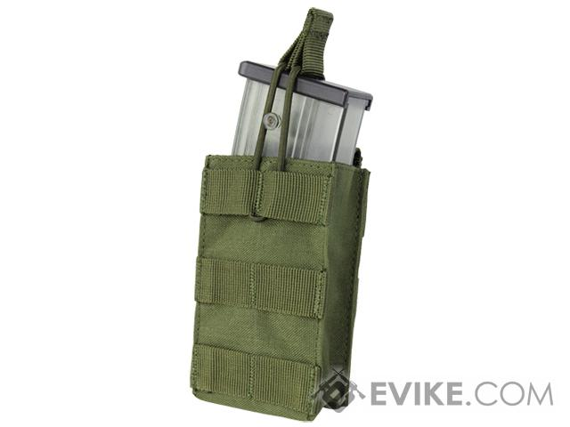 Condor Single Open Top Magazine Pouch for G36 Magazines - OD Green
