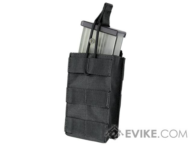 Condor Single Open Top Magazine Pouch for G36 Magazines - Black