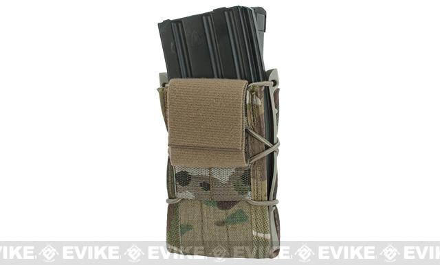 HSGI Double Decker TACO� LT Modular Single Rifle and Pistol Magazine Pouch Belt Mounted - Multicam