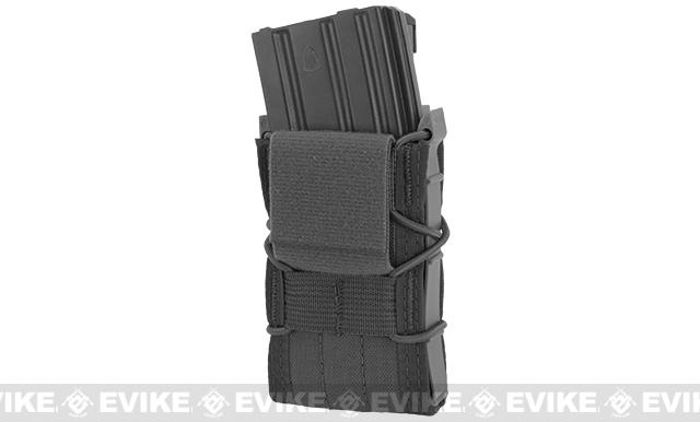 HSGI Double Decker TACO® LT Modular Single Rifle and Pistol Magazine Pouch Belt Mounted - Wolf Grey