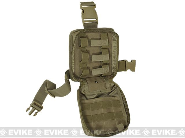 Voodoo Tactical Drop Leg First Aid Pouch - Coyote Brown