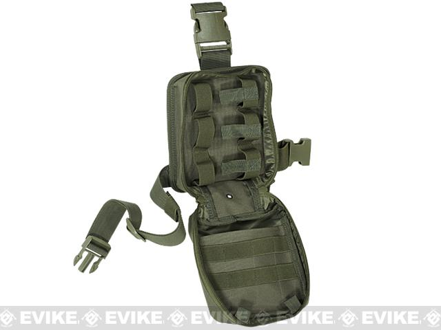 Voodoo Tactical Drop Leg First Aid Pouch - Black
