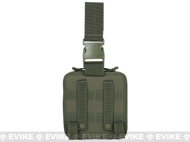 Voodoo Tactical Drop Leg First Aid Pouch - OD Green