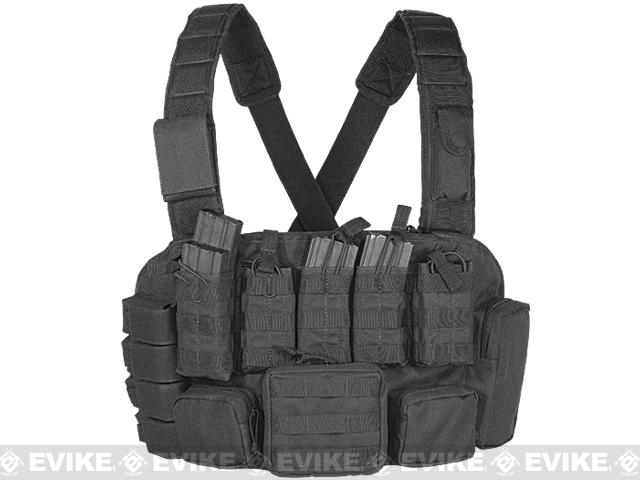 Voodoo Tactical MOLLE Tactical Chest Rig - Black