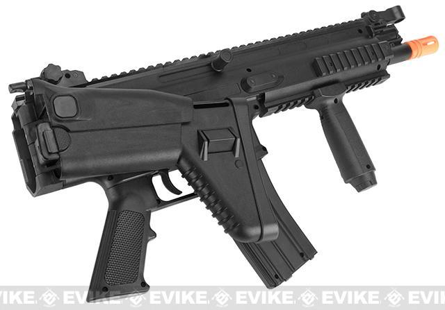 Cybergun SCAR-L Licensed Spring Powered Airsoft Rifle - Black