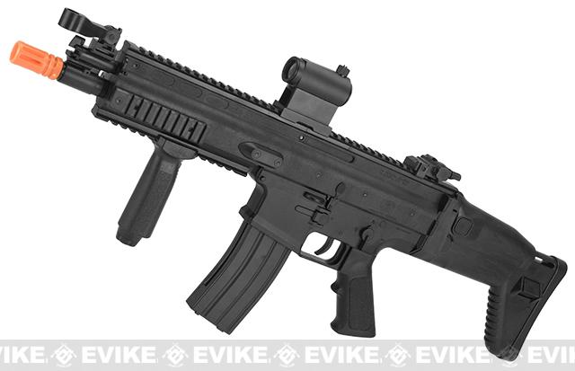 Cybergun SCAR-L Licensed Spring Powered Airsoft Rifle (Color: Black)